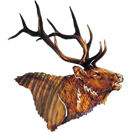 3D JQ Elk Metal Wall Art By Next Innovations - Walmart.com