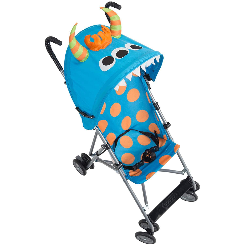 Character Umbrella Stroller, Monster Syd Cosco - Blue