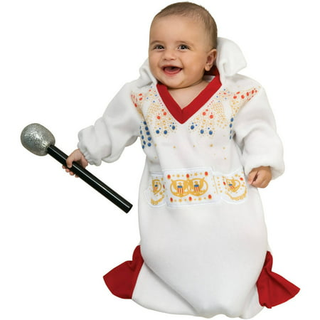 Elvis Bunting Infant Halloween Costume, Size 0-6 Months - Infant Halloween Costumes Bunting