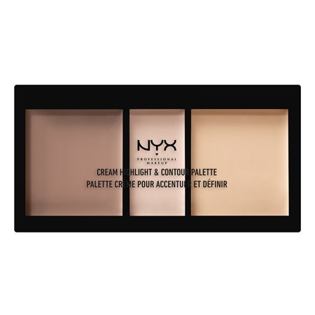 NYX Professional Makeup Cream Highlight & Contour Palette,