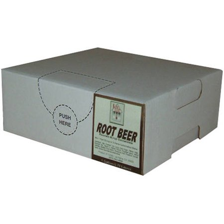 Willtec Root Beer Bag In Box Soda Syrup 1 Gal Twin Pack ()