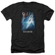 Star Trek Beyond Spock Poster Mens Heather Shirt