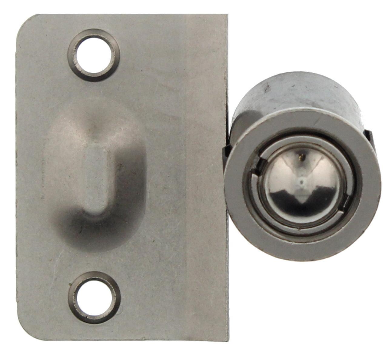 Ultra Hardware 61761 7 8 Satin Nickel Closet Door Drive In Bullet Ball Catch