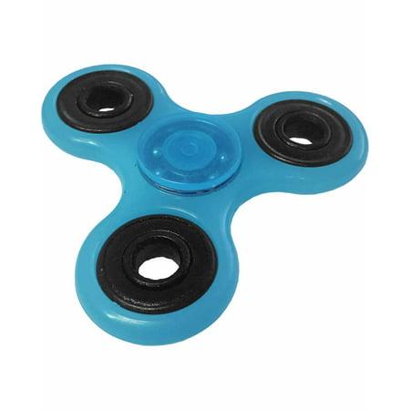 Fidget Spinner High Speed Blue Glow In The Dark Relief Toy - Blue Glow In The Dark