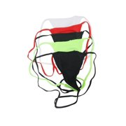 Lot of 5 Sexy Womens Plus Size Lycra Y Back String G-String Thong Panties Panty Underwear Lingerie