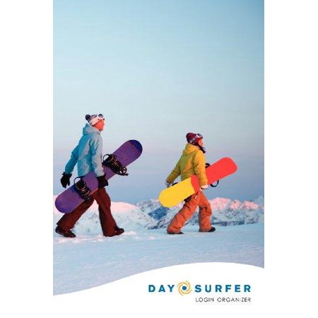 Day Surfer Login Organizer  Snowboarders At Sunrise