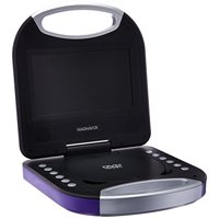 Magnavox 7-inch portable DVD/CD Player with Color TFT Screen & Remote Control