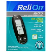 ReliOn Micro Blood Glucose Monitoring System