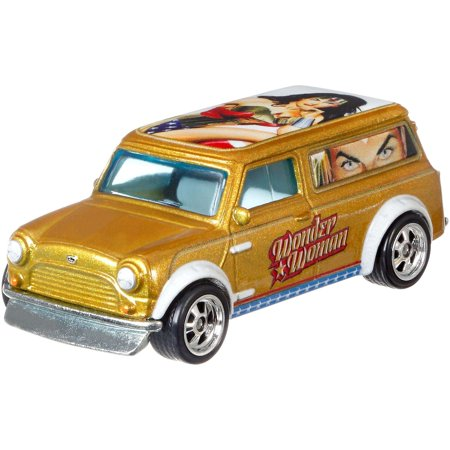 Austin Healey Diecast (Hot Wheels Premium 1:64 Scale Die-cast Wonder Woman 67 Mini Austin)