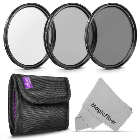 77MM Altura Photo Professional Photography Filter Kit (UV, CPL Polarizer, Neutral Density ND4) for Camera Lens with 77MM Filter Thread + Filter
