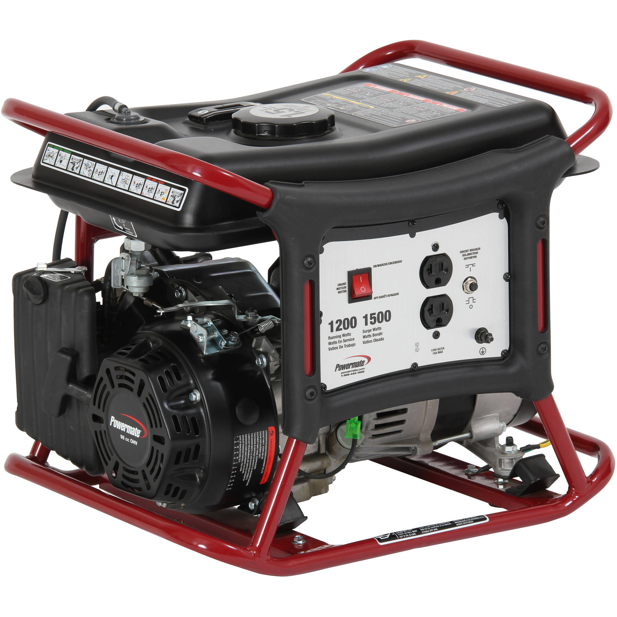 Sportsman 1000 Watt Inverter Generator Carb Approved Circuit Breaker Cold Hot Weather And High Altitude Operation