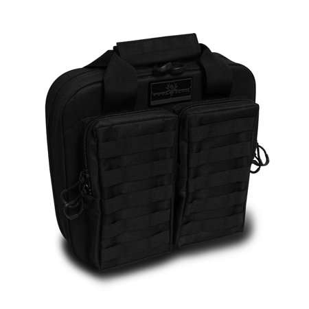Evolution Outdoor Tactical padded double gun pistol carrying