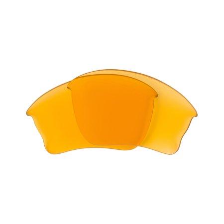 SEEK Replacement Lenses Compatible for OAKLEY Half Jacket XLJ Hi Yellow (Half Jacket Xlj Ersatzgläser)