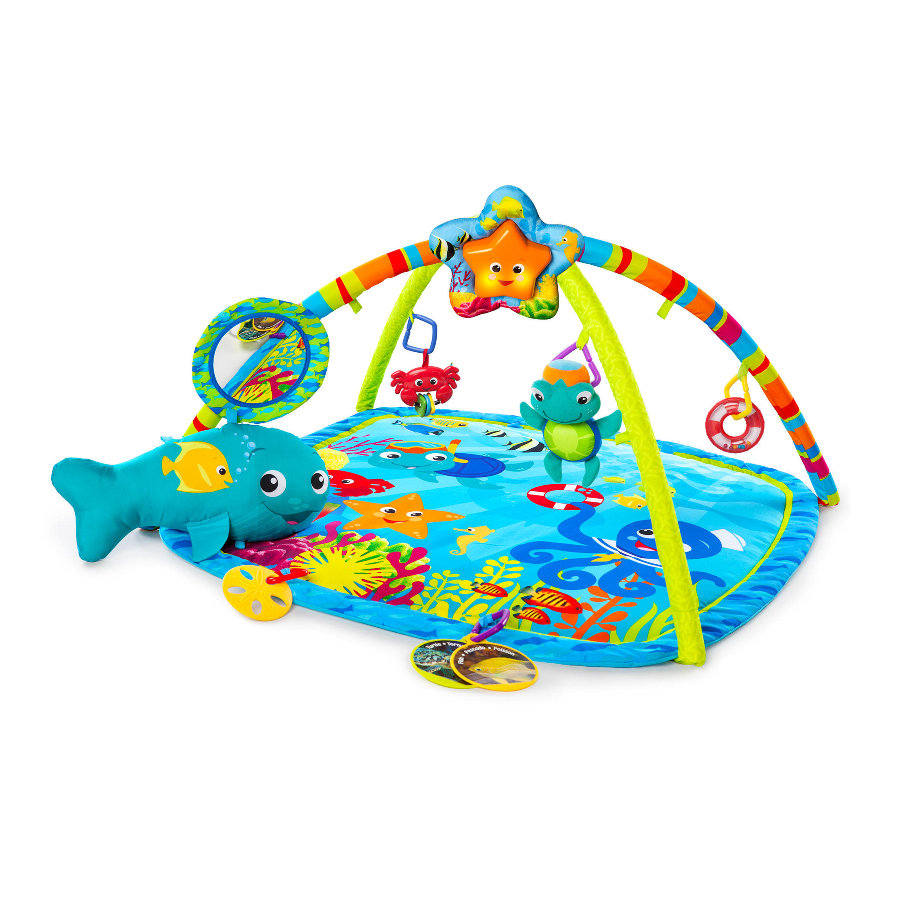 Baby Einstein Activity Gym and Play Mat - Nautical Friends