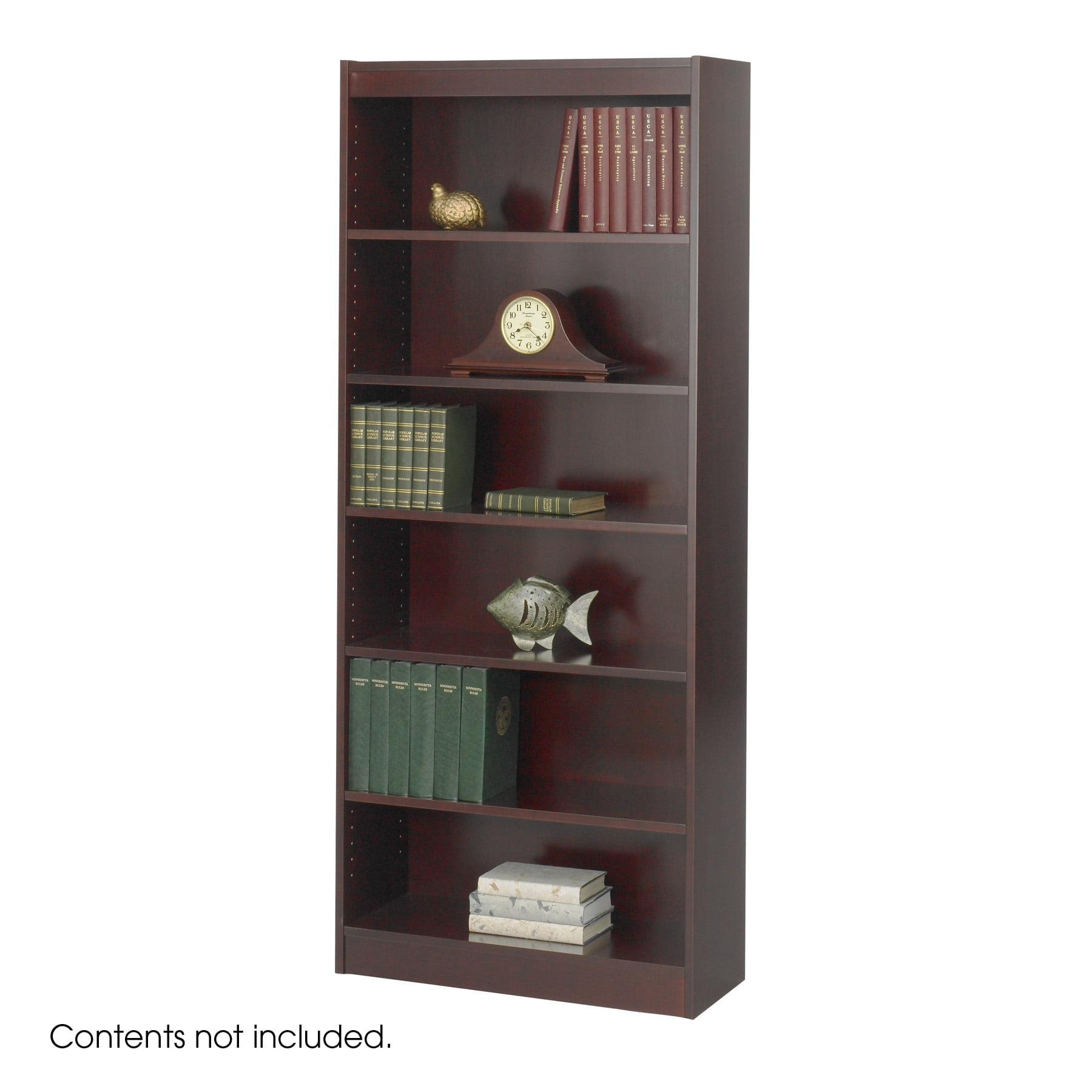 """6-Shelf Veneer Baby Bookcase, 30""""W-Finish:Mahogany"""