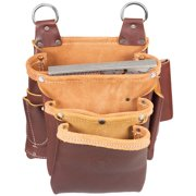 Occidental Leather 5063 3 Pouch Beltless Fastener Tool Screw Bag