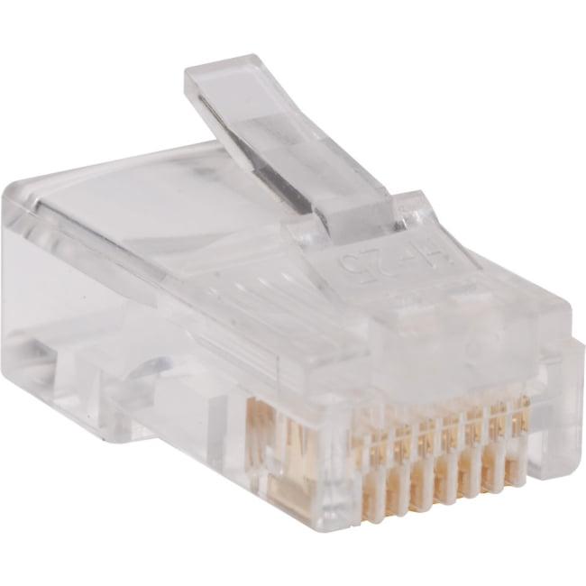 Tripp Lite N030-100 CAT-5E RJ45 Plugs, 100-Pack