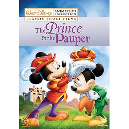 Disney Classic Short Films: The Prince & The Pauper (DVD)