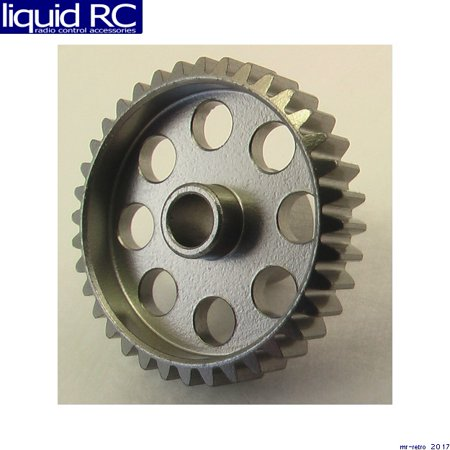 Hot Racing HAG836 36 Tooth 48 Pitch Hard Aluminum Pinion Gear (Pitch Aluminum Pinion)