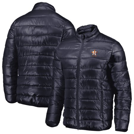 (Houston Astros Fanatics Branded Full-Zip Puffer Jacket - Navy)
