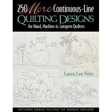 250 More Continuous-Line Quilting Design