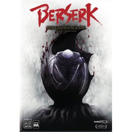 (Berserk Golden Age Arc 3-Movie Collection (DVD))
