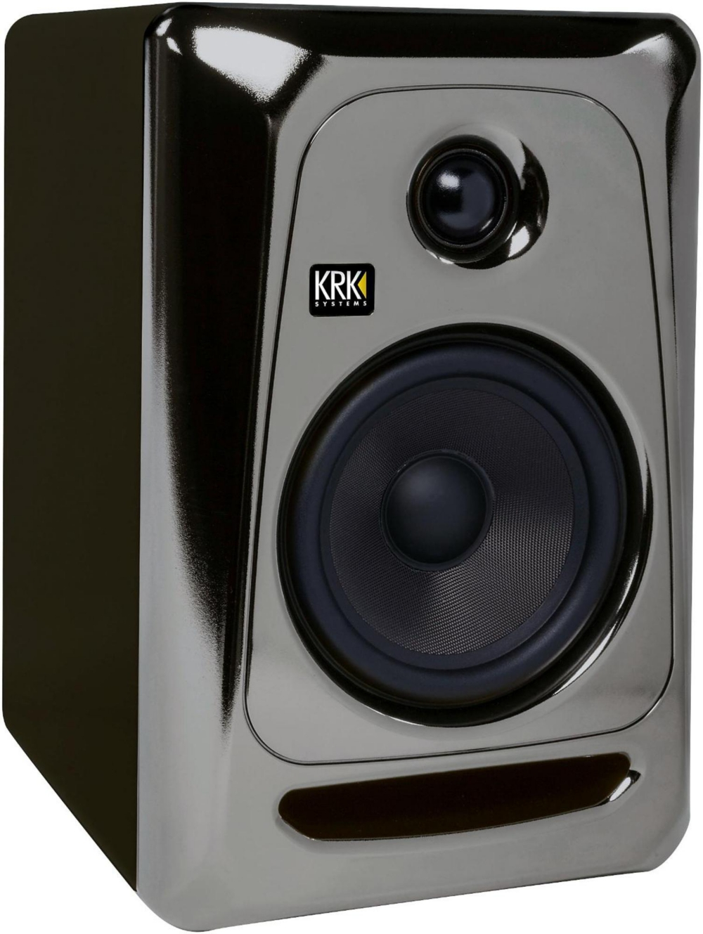 KRK ROKIT 5 G3 Powered Studio Monitor, Electric Silver Limited Edition by KRK