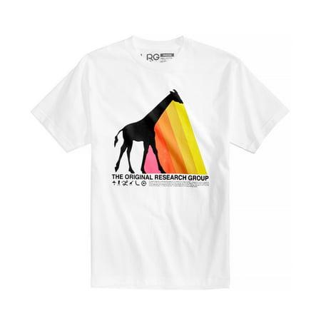 LRG Mens Giraffe Prism Graphic T-Shirt wh22 L