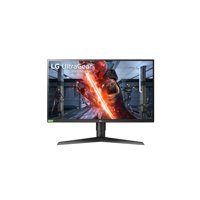 LG 27 inch UltraGear FHD IPS 1ms 240Hz G-Sync Compatible HDR10 3-Side Virtually Borderless Gaming Monitor - 27GN750-B