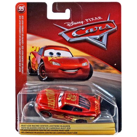 Disney Cars Cars 3 Rust-Eze Racing Center Lightning McQueen Diecast Car