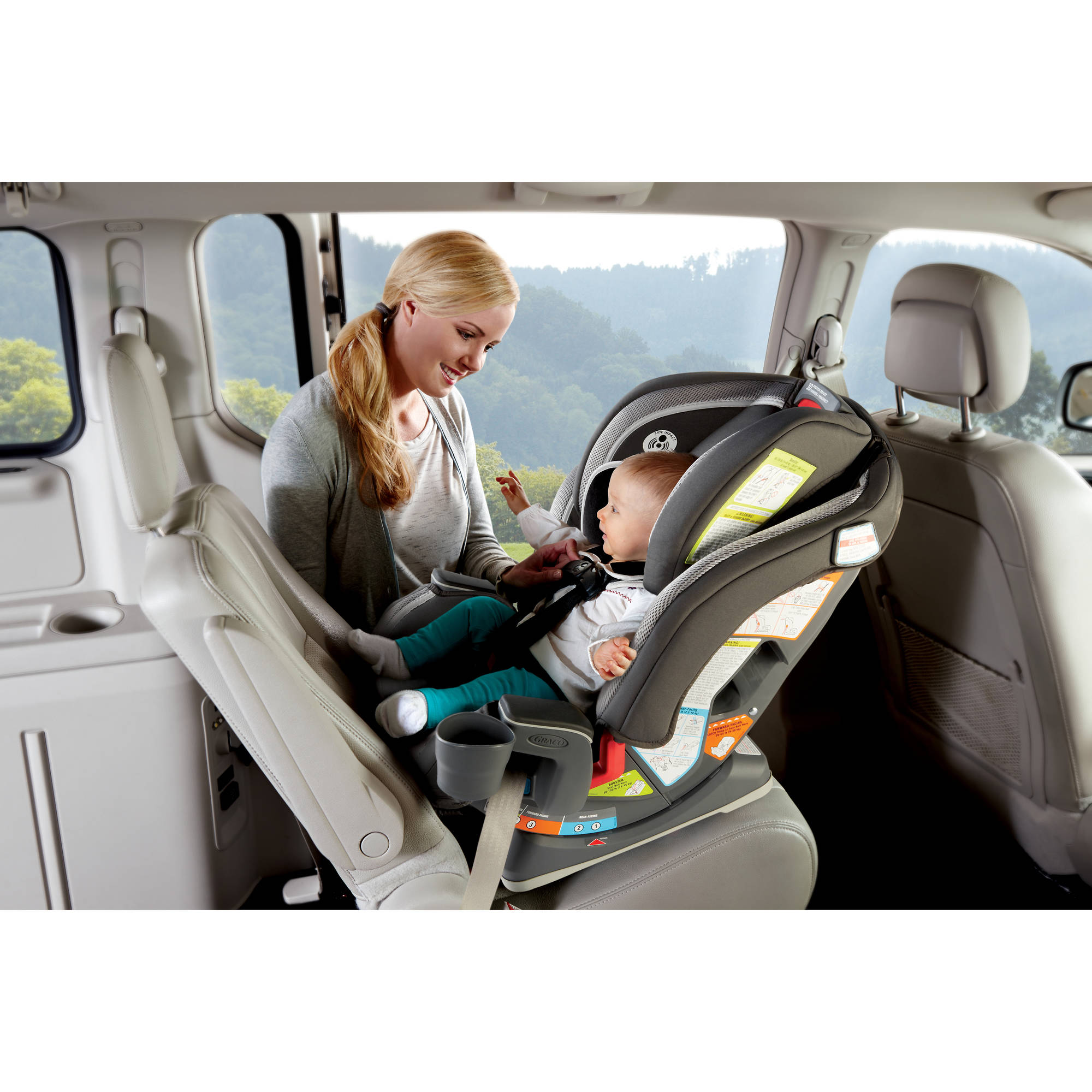 Graco Milestone All in e Car Seat Kline Best Car Seats