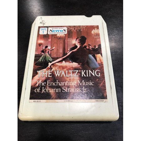 Various Artists: The Waltz King (Johann Strauss Jr.), Tape 1 - 8 Track Cartridge