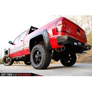 Fab Fours CS07-T1850-1 Black Steel Ranch Bumper