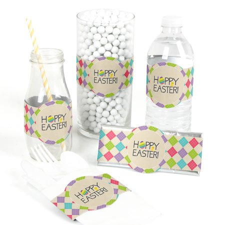 Hippity Hoppity - DIY Easter Party Wrapper Favors - Set of 15 - Easter Party
