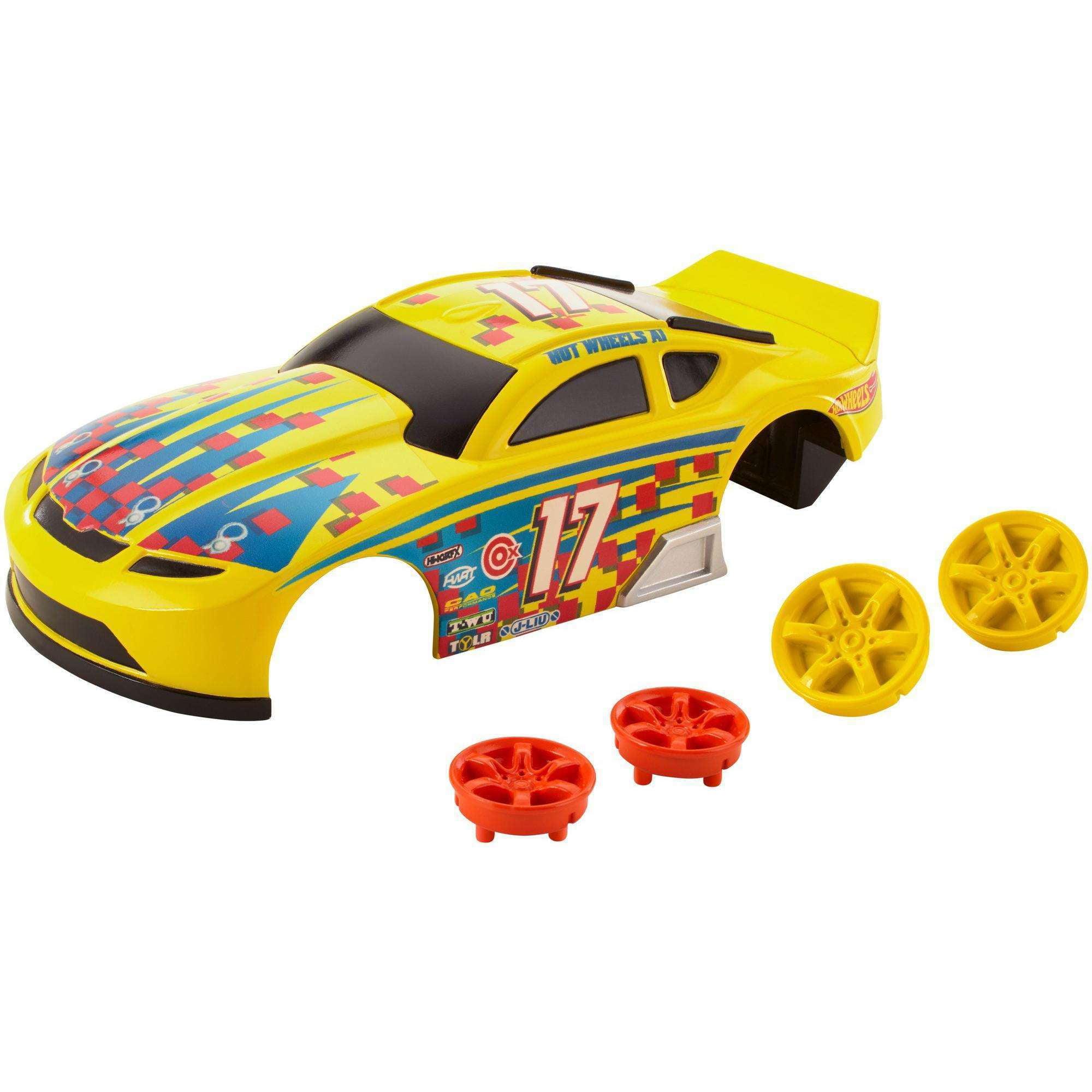 Hot Wheels A.i. Door Slammer Car Body & Wheels Custom Kit by Mattel