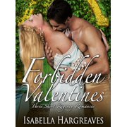 Forbidden Valentines: Three Short Regency Romances - eBook