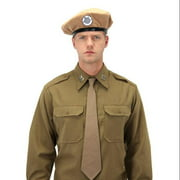 Doctor Who UNIT Tan Beret Classic Adult Costume Hat