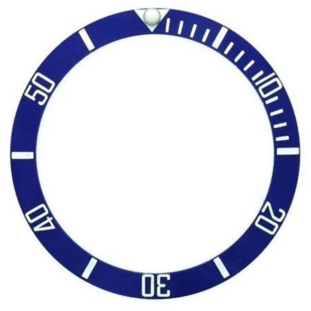- BEZEL INSERT CERAMIC FOR ROLEX SUBMARINER BLUE SILVER 16800,16808,16610 SAPPHIRE