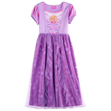 Princess Rapunzel Girls Fantasy Gown Nightgown