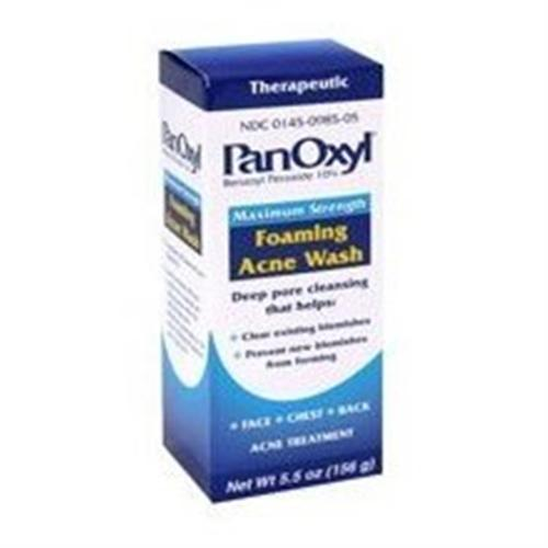 PanOxyl Foaming Acne Wash 5.5 oz (Pack of 6) - Walmart.com