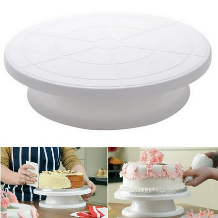 Cake Decorating Turntable Rotating Revolving Kitchen Display Stand ...