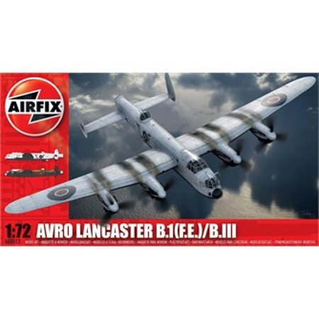 - Airfix Avro Lancaster B III 1:72 Military Aviation Plastic Model Kit A08013A