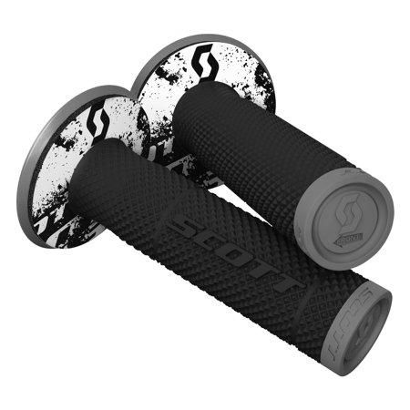 Scott USA 219624-1001 SX II MX Grips - Tattoo 2 - (Scott Usa Black Grips)
