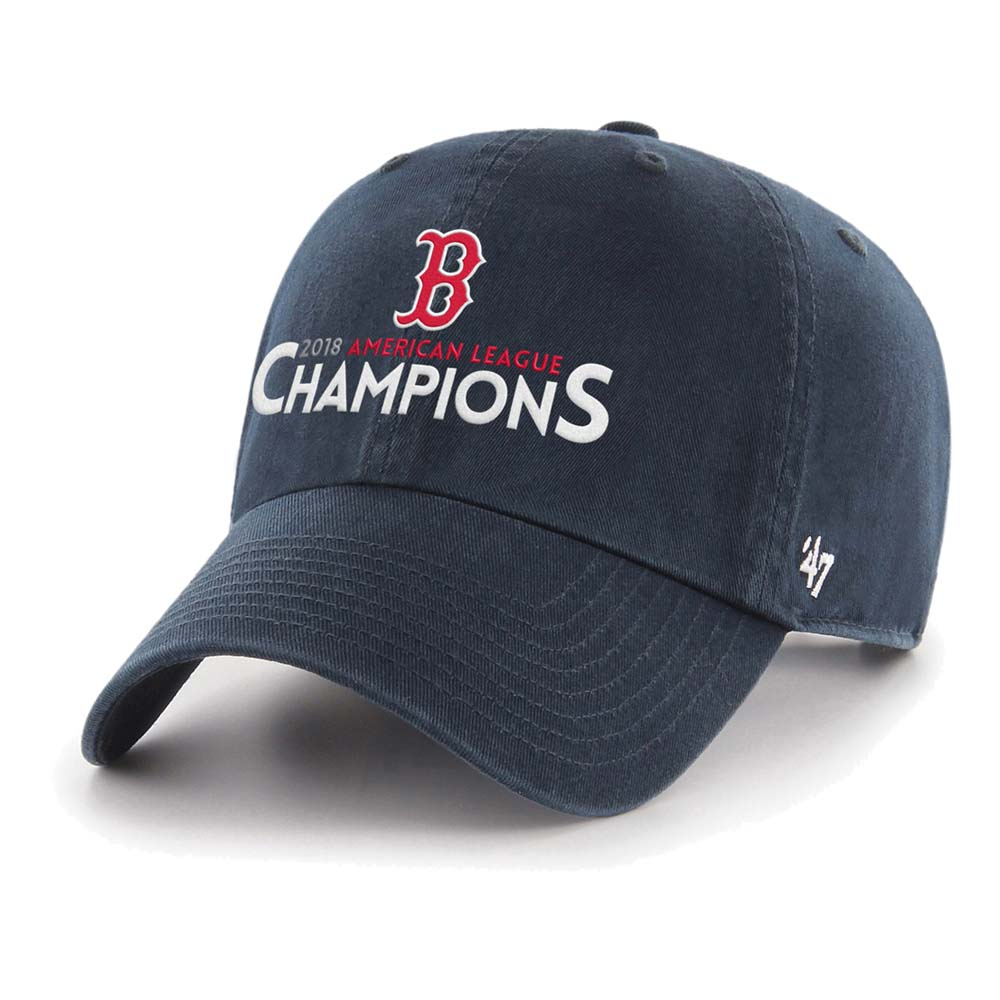 Boston Red Sox '47 2018 American League Champions Clean Up Adjustable Hat - Navy - OSFA