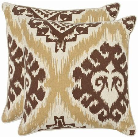 Safavieh Lucy Almond Pillow, Set of 2