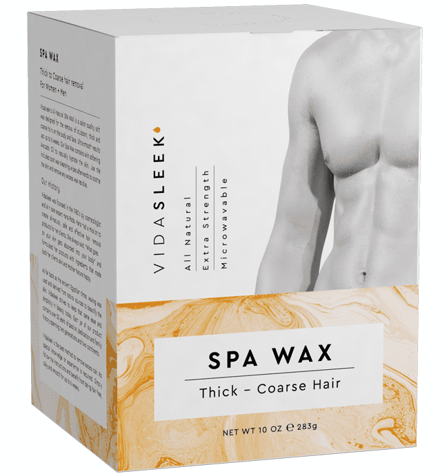 Extra Strength Hair Removal Waxing Kit Men Women All Natural