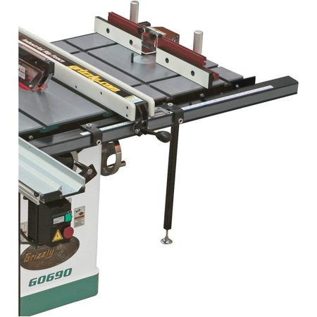 "Grizzly Industrial T10222 20"" x 27"" Router Extension Table for Table Saw"