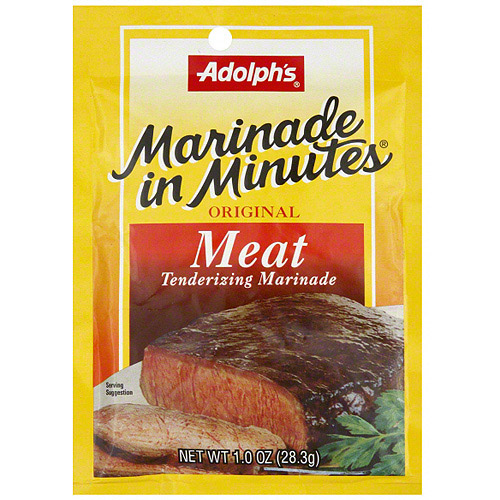 Image of Adolph's Original Meat Tenderizing Marinade, 1 oz (Pack of 24)