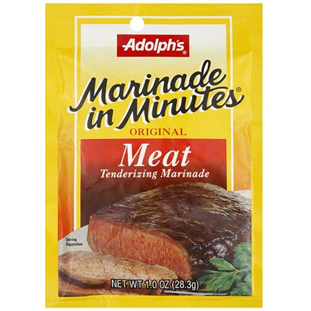 Adolph's Original Meat Tenderizing Marinade, 1 oz (Pack of - Meat Marinade