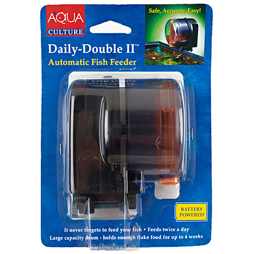 Aqua Culture Daily-Double II Automatic Fish Feeder
